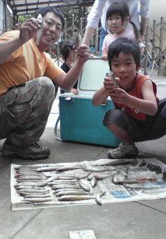 キス59匹の大漁。